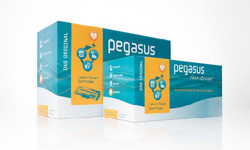 Pegasus CleanConcept: Aus Verantwortung für Mensch und Umwelt. Klimaneutrale Tonerkartusche