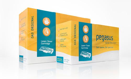 Pegasus SaveConcept: Geld sparen, Zeit gewinnen. Die kostengünstige Tonerkartusche mit dem gewissen Extra
