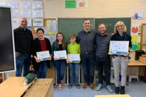 Grundschul-Malwettbewerb: Siegerehrung - KGS Burgweg