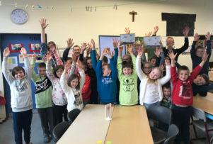 Grundschul-Malwettbewerb: Siegerehrung - KGS in der Wasserkuhl